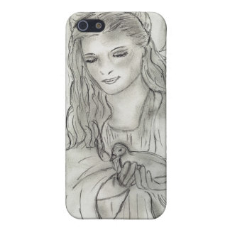 Peaceful Angel Cover For iPhone SE/5/5s