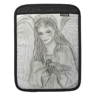 Peaceful Angel iPad Sleeve