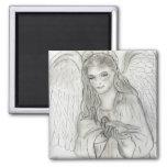 peaceful angel magnet