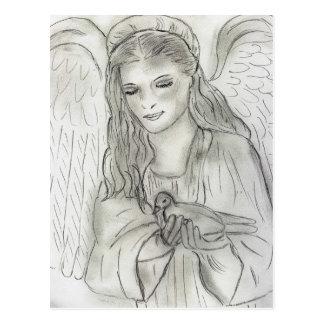 Peaceful Angel Postcard