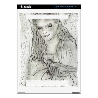 Peaceful Angel Xbox 360 Decal