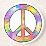 Peaceful Art Beverage Coasters