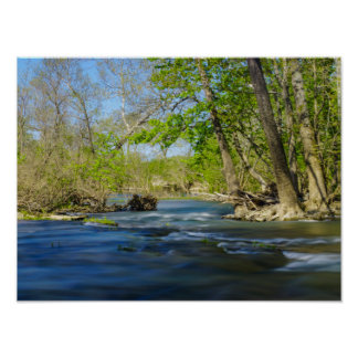 Peaceful At The River Poster