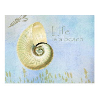 Peaceful Beach II Postcard