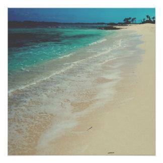 Peaceful Beach Poster