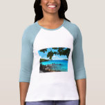 Peaceful Beach St. Thomas T-shirts