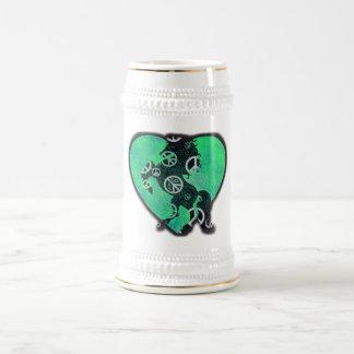 Peaceful Beer Stein