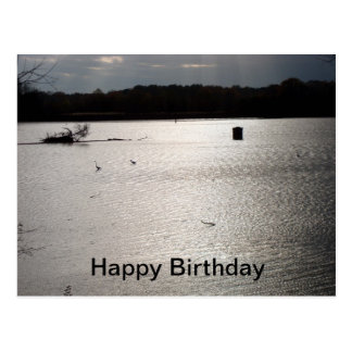 Peaceful Birthday Postcard