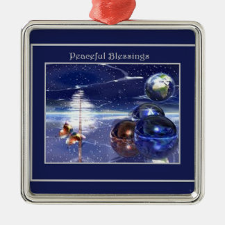 Peaceful Blessings  Collection Metal Ornament