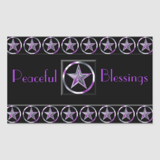 Peaceful Blessings Stickers
