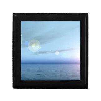 Peaceful Blue Sea Keepsake Box