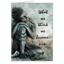 Peaceful Buddha words of wisdom