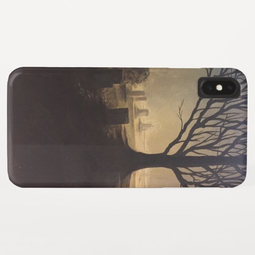 Peaceful cemetery iPhone XS max case