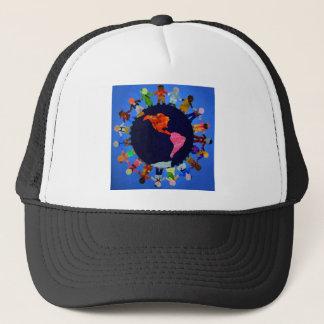 Peaceful Children around the World Hat