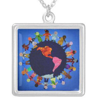 Peaceful Children around the World Necklace