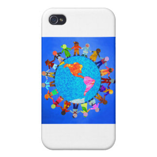 Peaceful Children iPhone 4 Cover