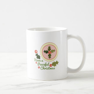 Peaceful Christmas Coffee Mug