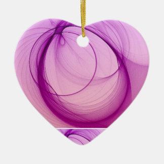 Peaceful Christmas Heart Ornament