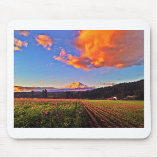 Peaceful Clouds Mouse Pad