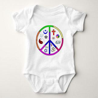 Peaceful Coexistence Baby Bodysuit