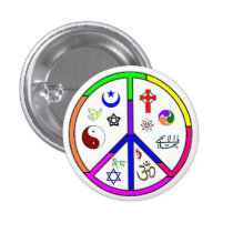 Peaceful Coexistence Pins