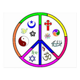 Peaceful Coexistence Postcard