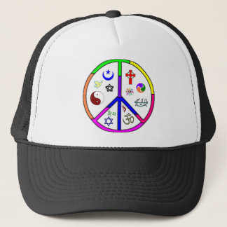 Peaceful Coexistence Trucker Hat