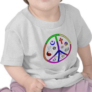 Peaceful Coexistence Tee Shirts