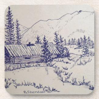 Peaceful Cottage of the Backwoods Coaster