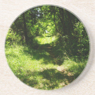 Peaceful Country Pathway Drink Coaster