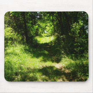 Peaceful Country Pathway Mouse Pad