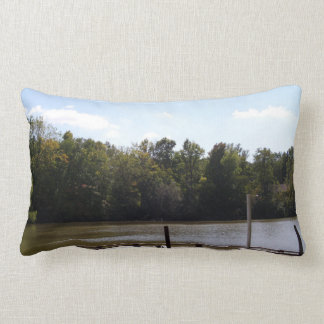 Peaceful Day by the Shoreline Pillows