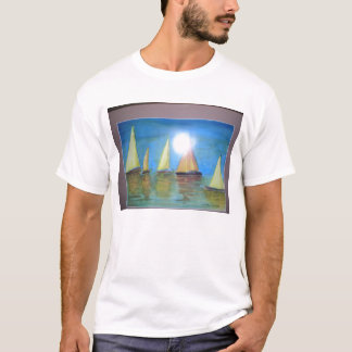 peaceful day on the lake T-Shirt