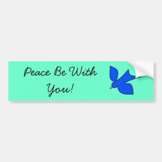 Peaceful Dove Bumper Sticker