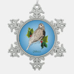 Peaceful Dove with holly and Ivy Ornaments