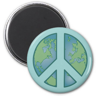 Peaceful Earth Magnet