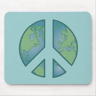 Peaceful Earth Mousepad