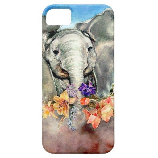 Peaceful Elephant iPhone 5 Case