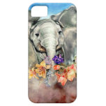 Peaceful Elephant iPhone 5 Case