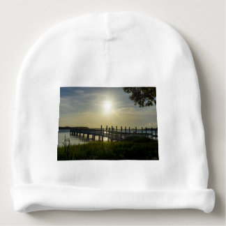 Peaceful Evening At Cooper River Baby Beanie