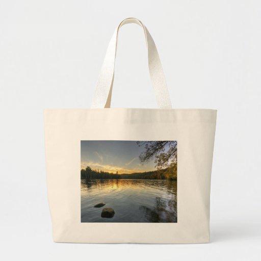 Peaceful Evening Canvas Bag