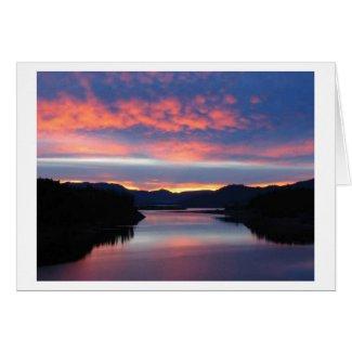 Peaceful Evening Card