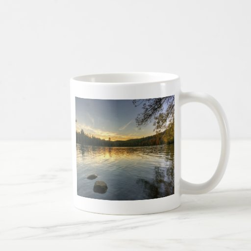 Peaceful Evening Classic White Coffee Mug