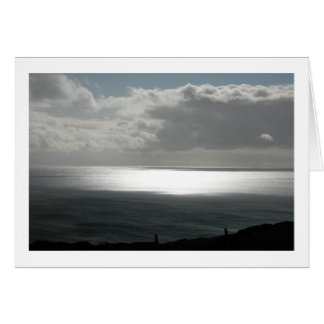 Peaceful Evening in Ireland (Blank) Stationery Note Card