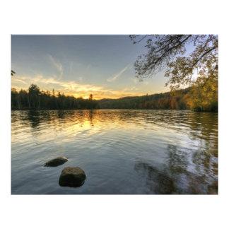 Peaceful Evening Letterhead