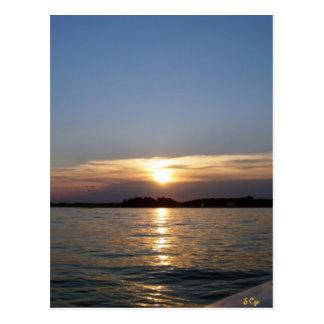Peaceful Evening Postcard
