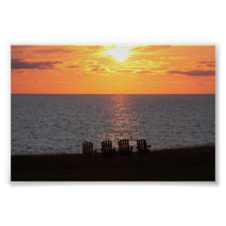 Peaceful Evening Sunset Posters