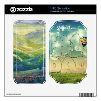 Peaceful Father Appreciation Decals For HTC Sensation