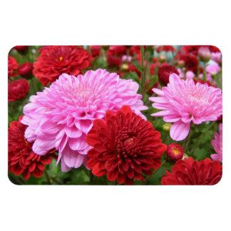 Peaceful Floral Garden Rectangular Photo Magnet
