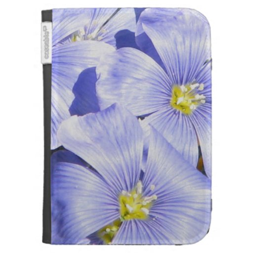 Peaceful  Floral Kindle Cover